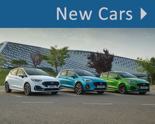 New Ford Cars For Sale in Macclesfield near Stockport, Cheshire